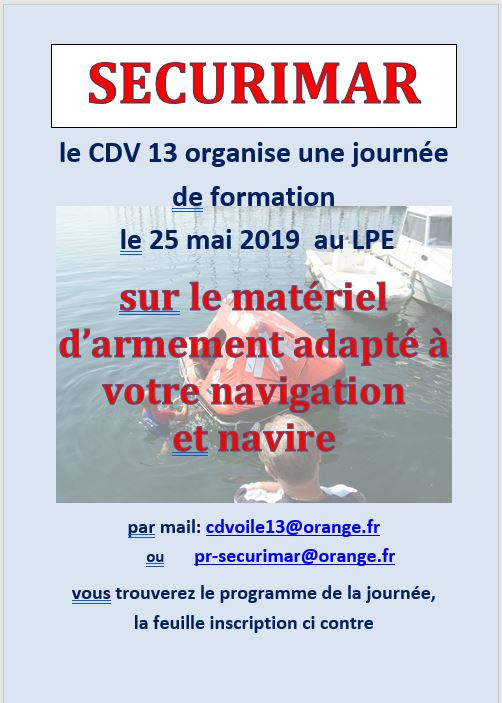 FORMATION SECURIMAR