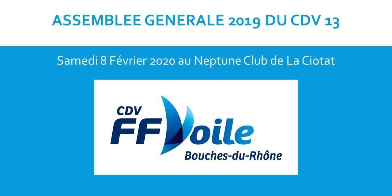 ASSEMBLEE GENERALE 2019 DU CDV 13