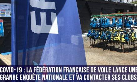 Toutes les infos de la FFVoile à destination des clubs au 23 Mars 2020