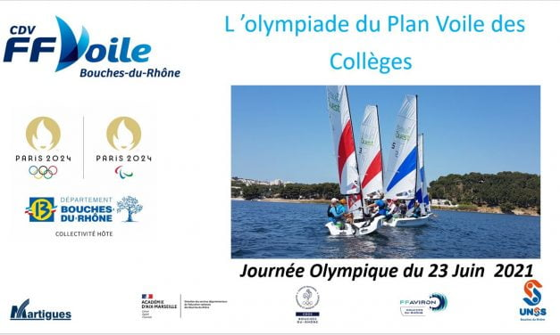 Finale du plan voile collège 2020-2021 au Cercle de Voile de Martigues le 23 Juin 2021